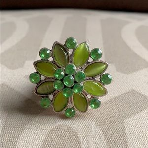 Never worn Green Ring